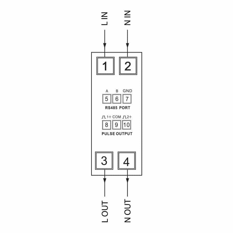 SDM230-Modbus-MID single phase digital multifunction meter