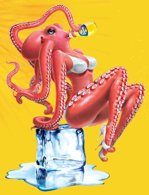 orangina octopus