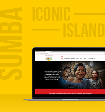 Sumba Iconic Island's Website