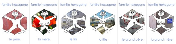 famille hexagone à Marseille