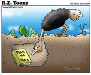 Ostrich fear no more