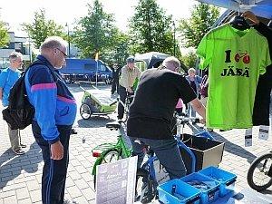 Toimintaa We Cycle Jämsä! -tapahtumassa 31.8.2013.