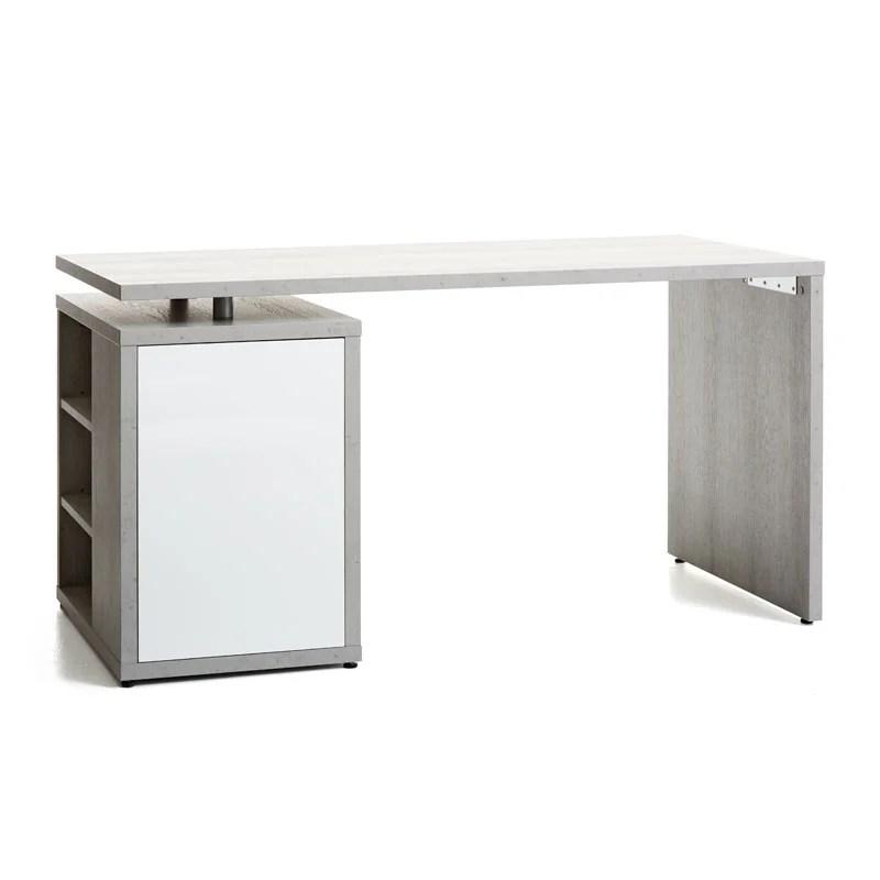 Ullits Office Desk White Concrete Office Desks Office Jysk Ca