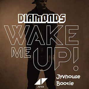 TV Rock & Hook n Sling v Avicii ft Aloe Black - Diamonds Wake Me Up (Jyvhouse Fusion Type Boot Mash)