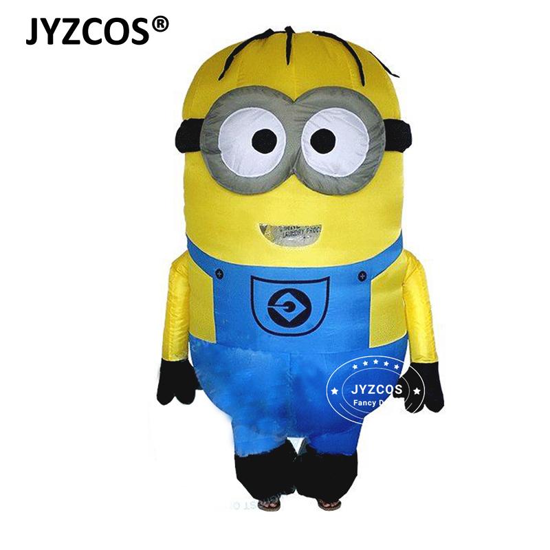 Minions Halloween Costume.Jyzcos Minions Inflatable Costumes Minions Cosplay Halloween Costume Disfraces Adultos