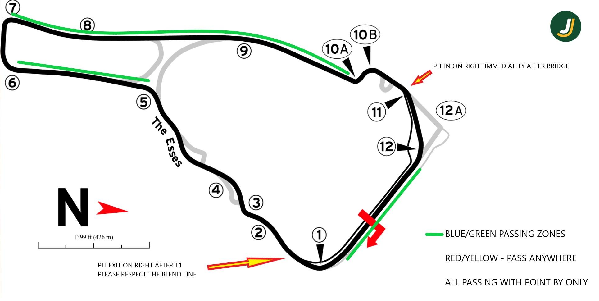 Road Atlanta September 14-15 — Jzilla Track Days