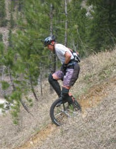 Mountain Unicycling (MUni)