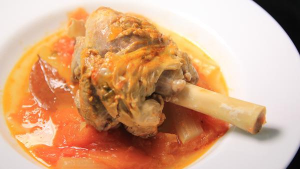 補身羊肉料理 - 意式炆羊膝 Italian Lamb Shank