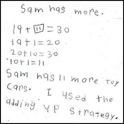 2nd Grade Math Journal Gallery