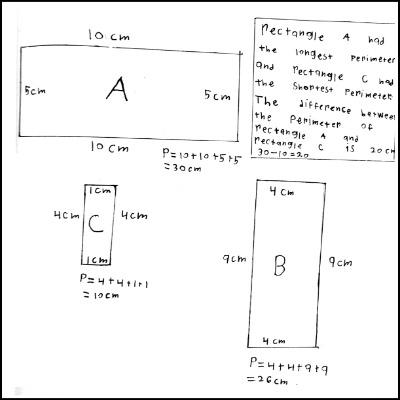 3rd Grade Math Journal Gallery