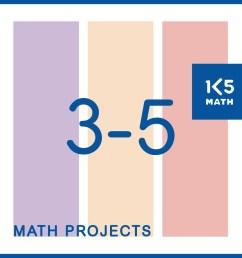 Math Projects Grades 3-5 [ 1042 x 1042 Pixel ]
