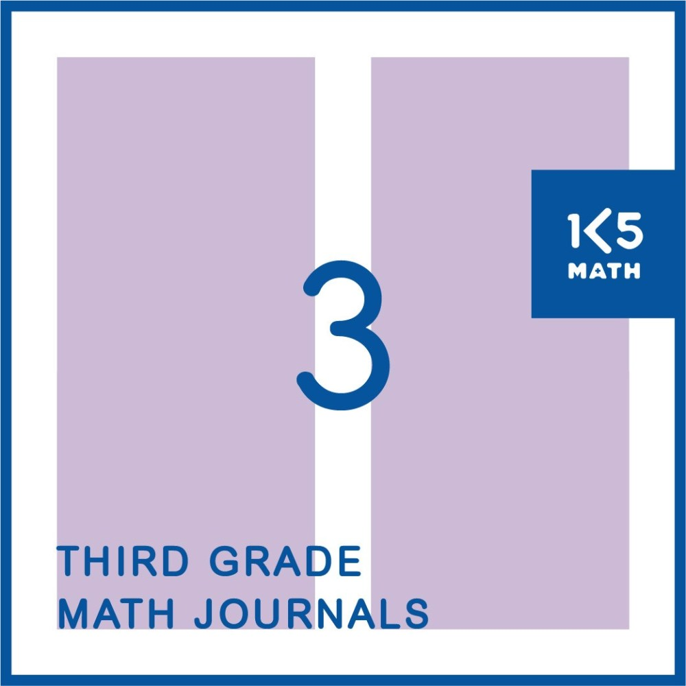 medium resolution of 3rd Grade Math Journals
