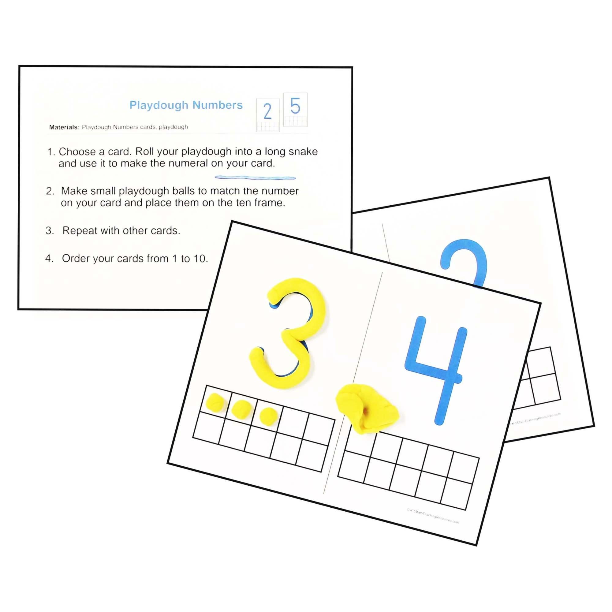 hight resolution of Kindergarten Number