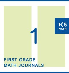 1st Grade Math Journals [ 1043 x 1043 Pixel ]