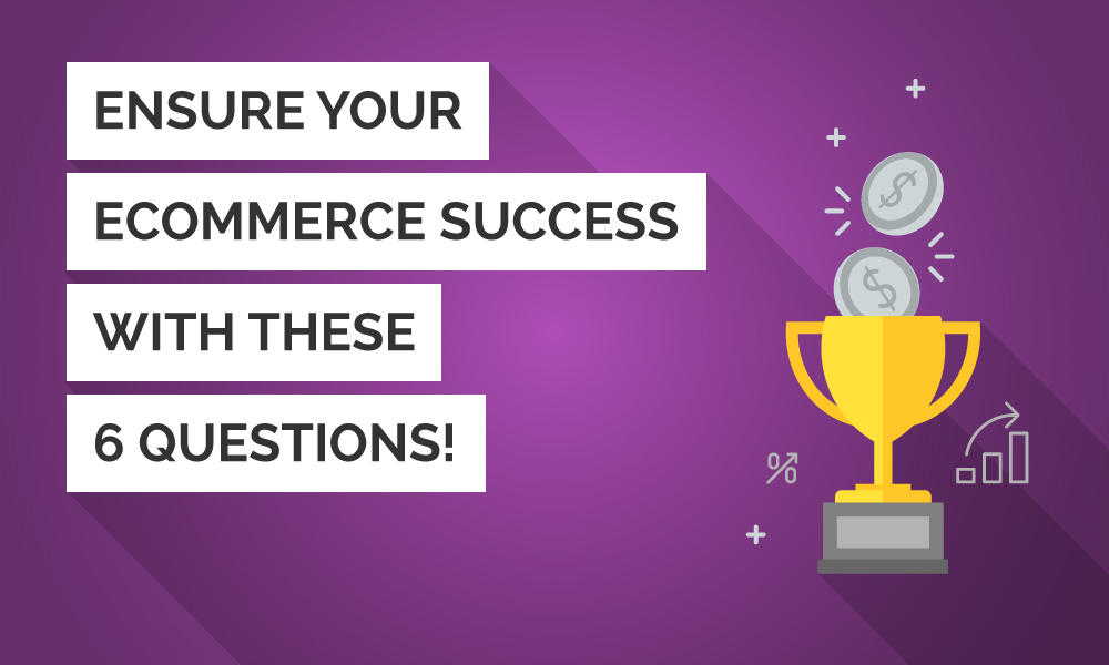 Ensure your eCommerce Success with these 6 Questions