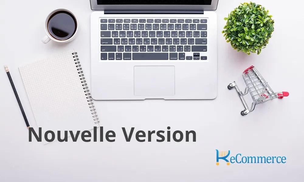 Nouvelle version k-eCommerce