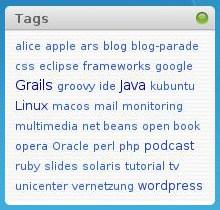 Simple Tags - Tag Cloud