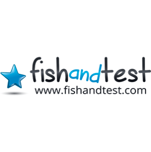 Logo Fish and test