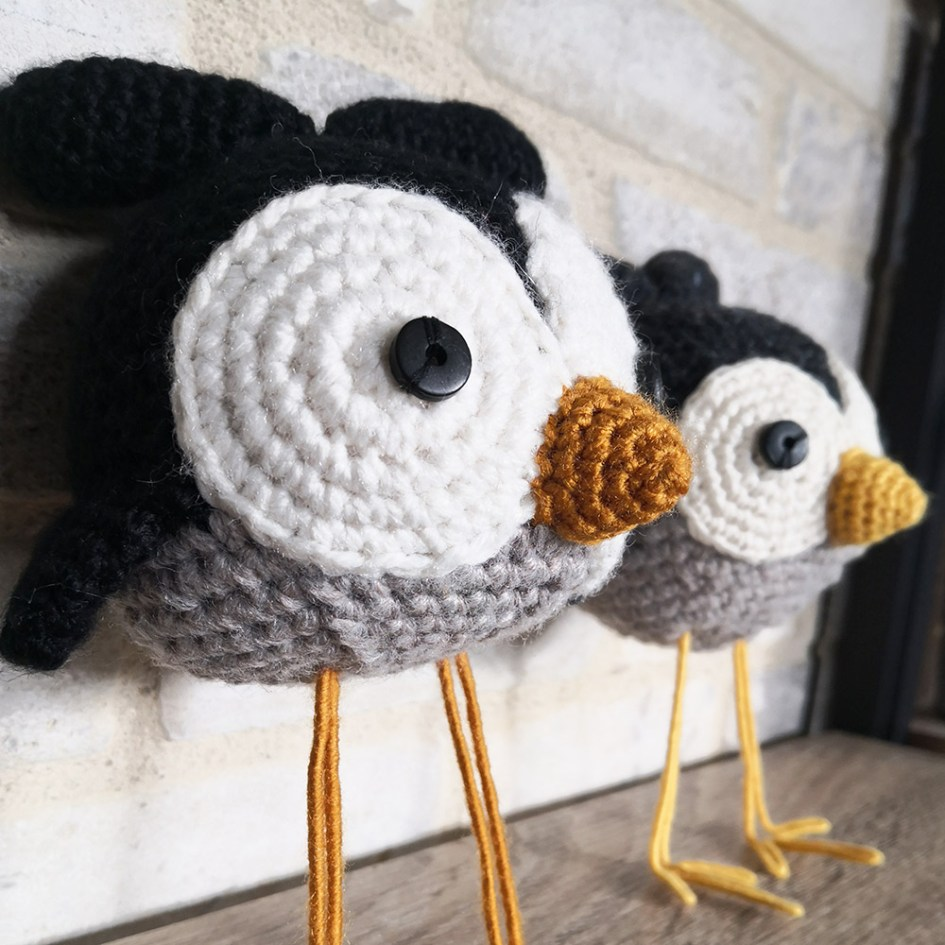 Amigurumi K-ROBAZ : Little bird n°2 & 3