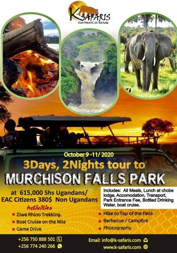 murchison Falls adventure fun in Uganda
