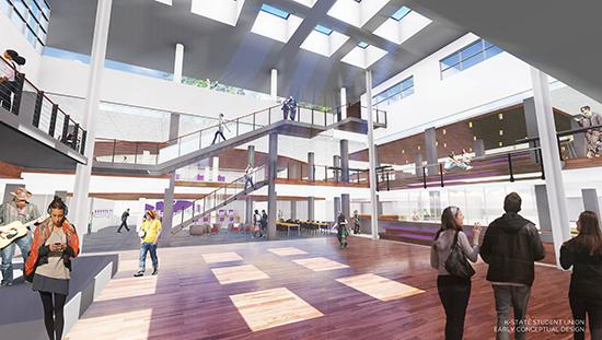 Renderings Your Union Kansas State University