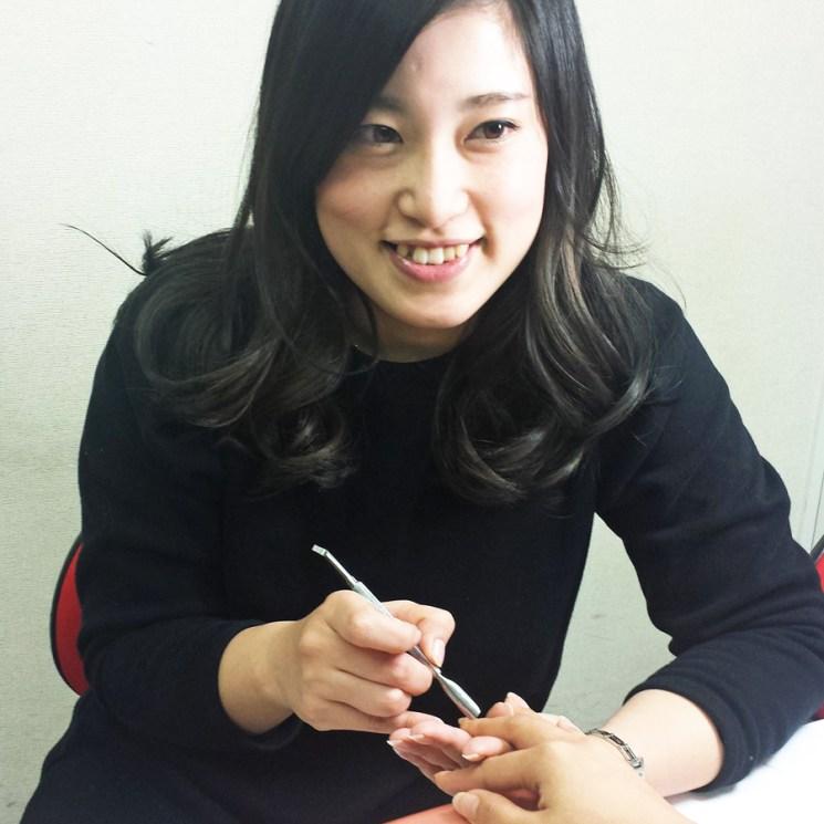 ネイル講師田中洋子