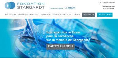 Site de la fondation stargardt