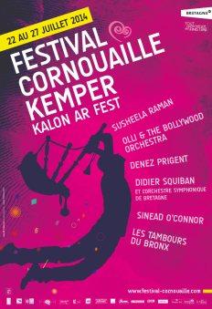 Affiche Festival de Cornouaille