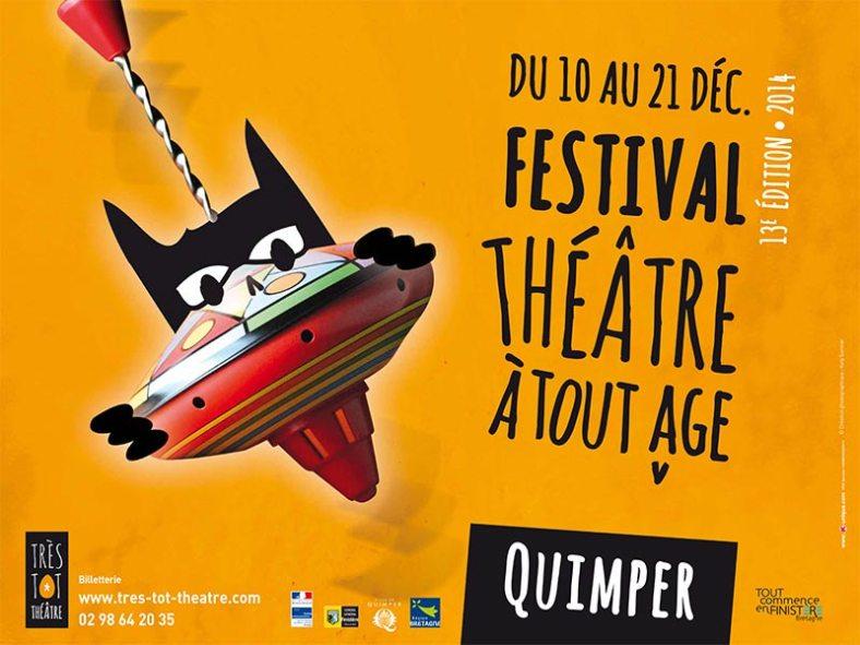 Affiche du festival théâtre à tout âge