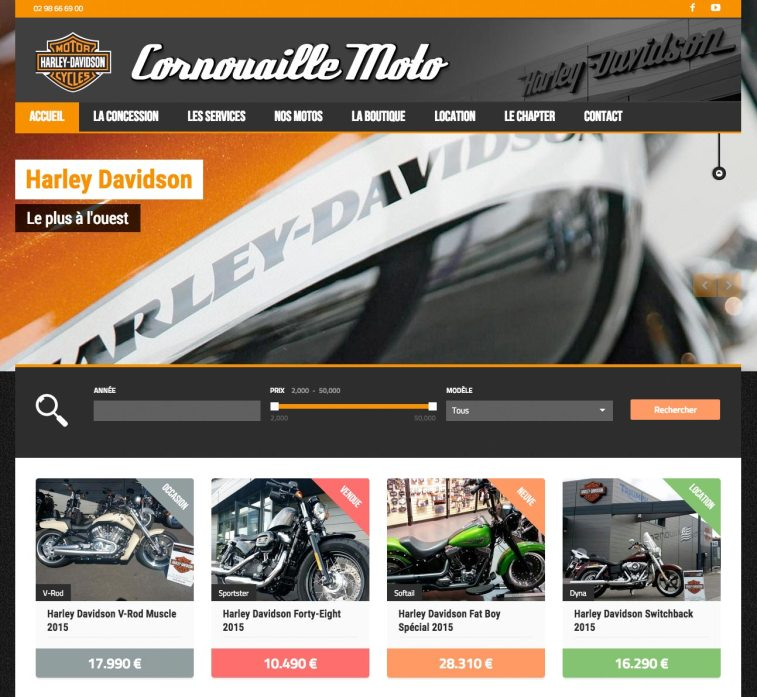 site Harley Davidson