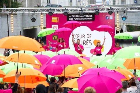 animation déguisement Les parapluies de Brest