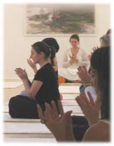 Lotus Mudra Meditation