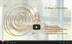 21 Phasen der Meditation