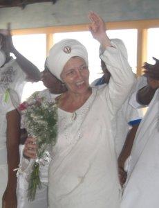 Eva Wagner in Afrika