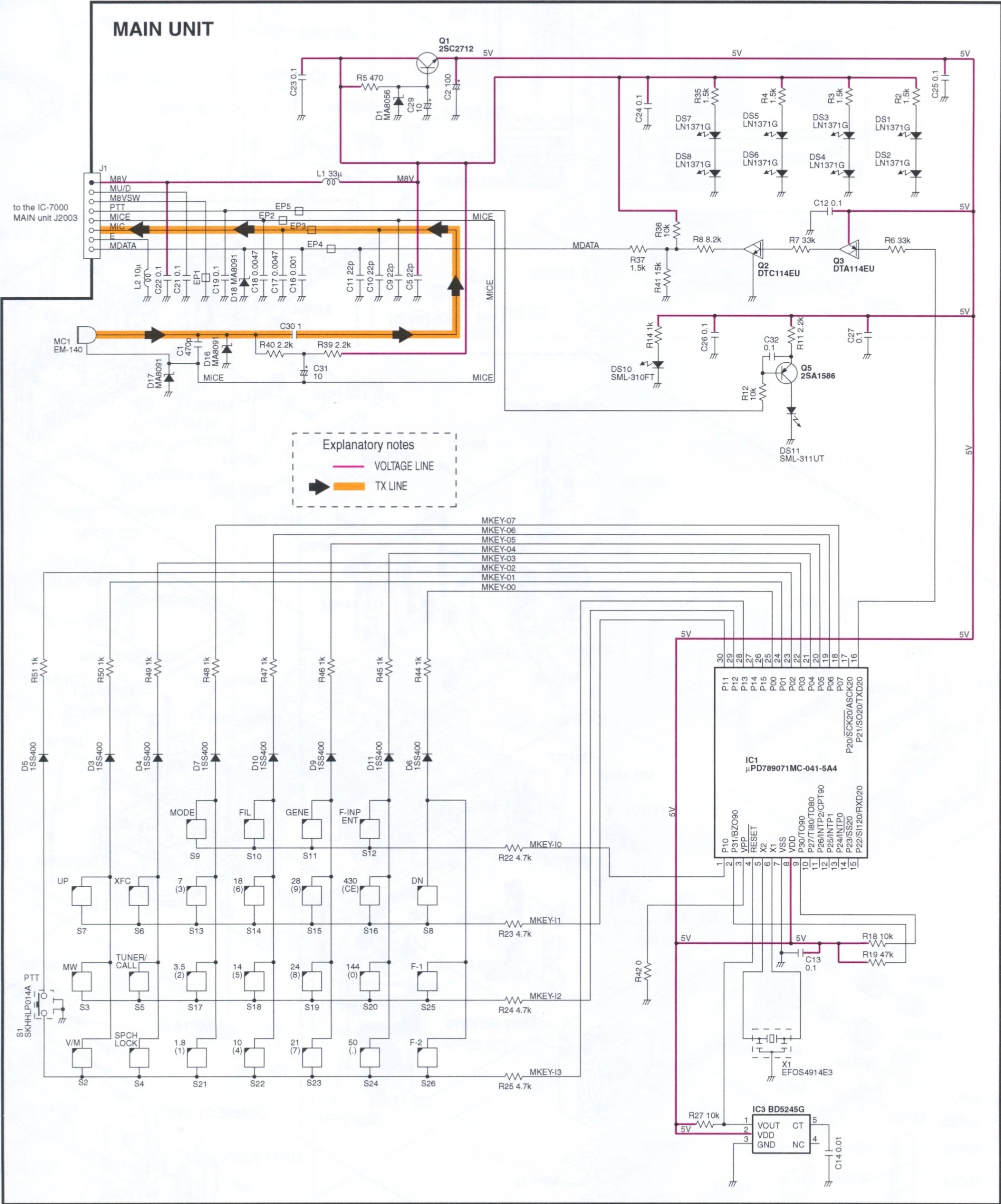 hight resolution of icom computer headset wiring diagram