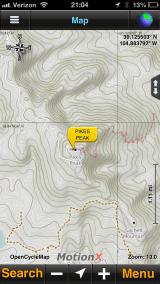 GPS Pikes Peak