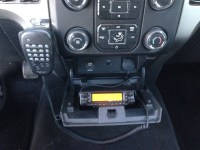 Amateur radio antenna mounts for the ford f150