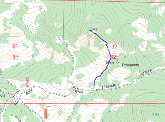 SP-094 hiking route