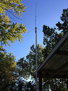 Tram antenna on PVC