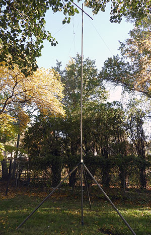 Portable Fiberglass Antenna Mast – K0VAB