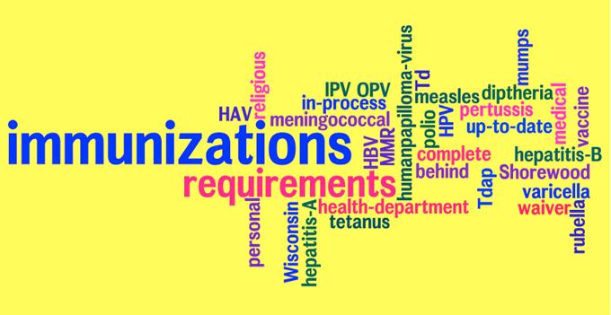 nursing services immunization requirements