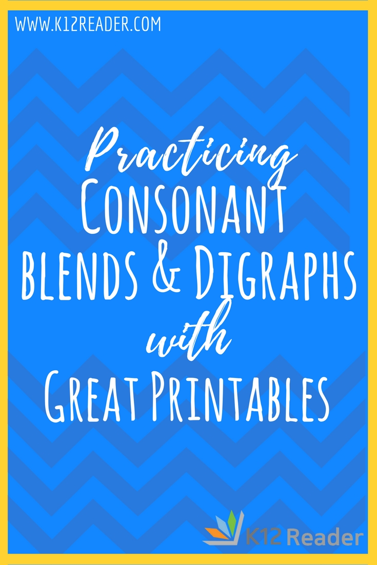 hight resolution of Consonant Blends and Digraphs Printable Activities   What are Consonant  Blends?