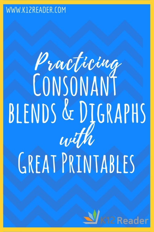 small resolution of Consonant Blends and Digraphs Printable Activities   What are Consonant  Blends?