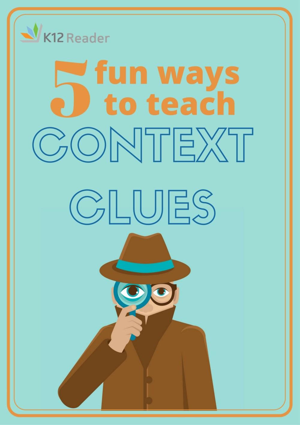 medium resolution of Five Fun Context Clues Games   Context Clues Games