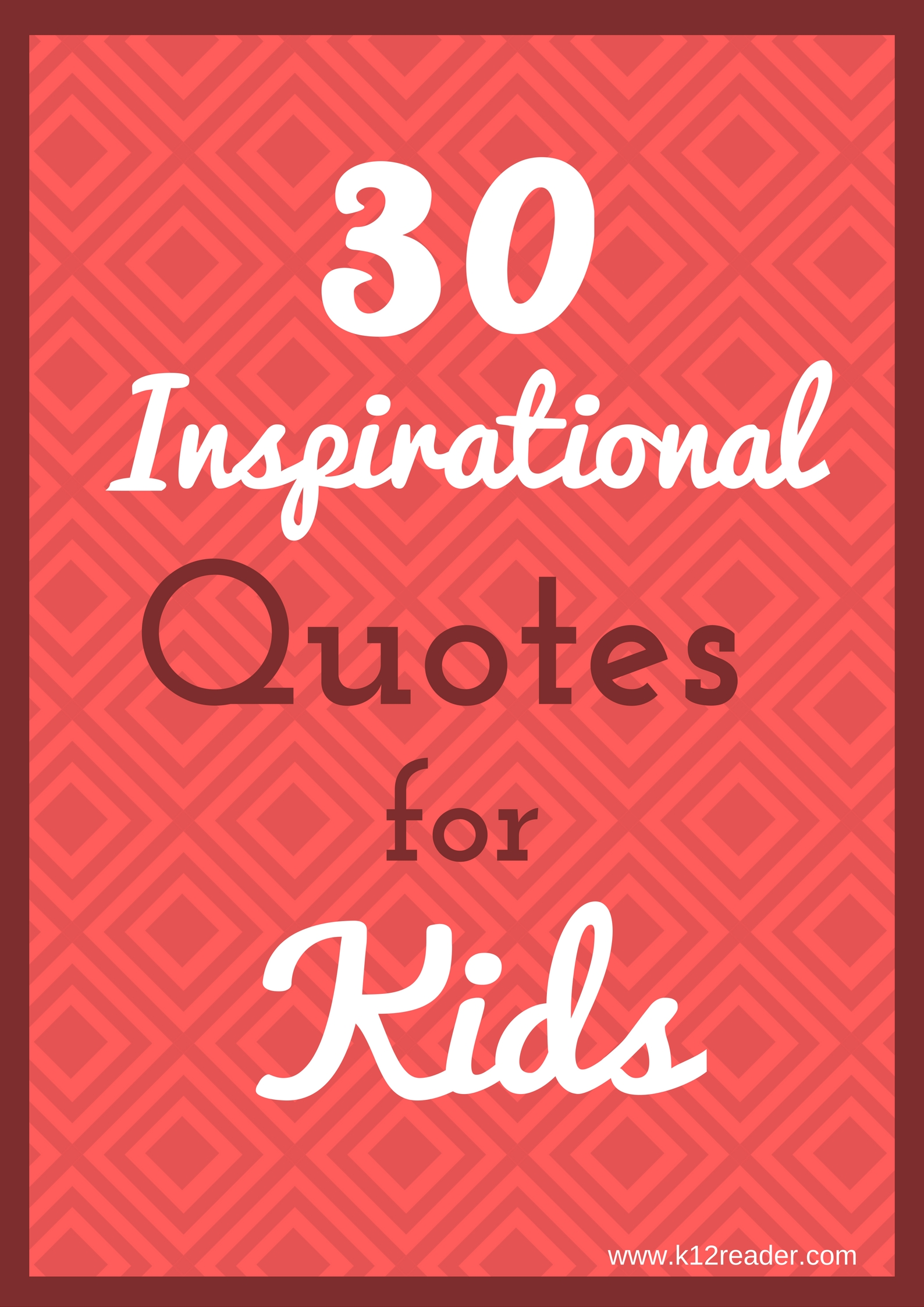 hight resolution of 30 Inspirational Quotes for Kids