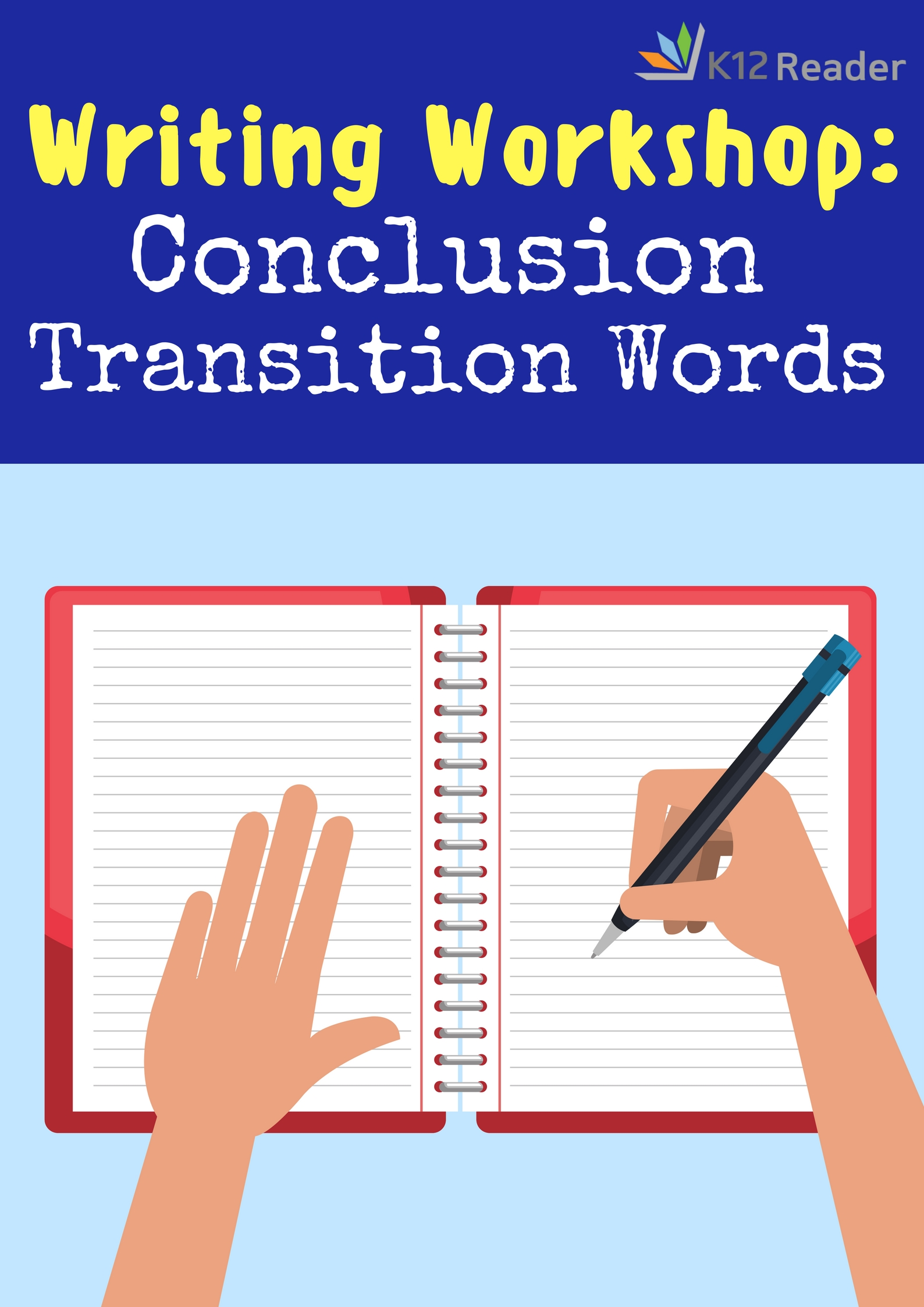 hight resolution of Conclusion Transition Words and Phrases - K12reader
