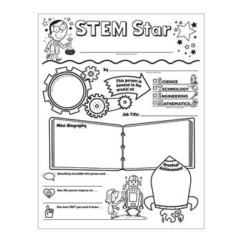Personal Posters Stem Star Initiative SC-594316 Scholastic