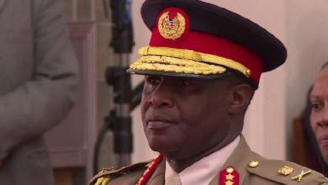 Lt. Gen Kibochi was born in Nakuru on 15 August 1959. [PHOTO   FILE]