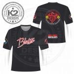 Blaster Red Dragon Round neck shirt