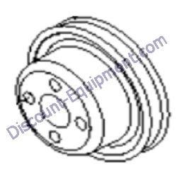 839209 / 839209GT Terex RL4000 / RL4 V-Belt, Kubota